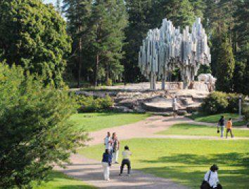 Sibeliuksen puisto (c) Paul Williams/Visit Helsinki