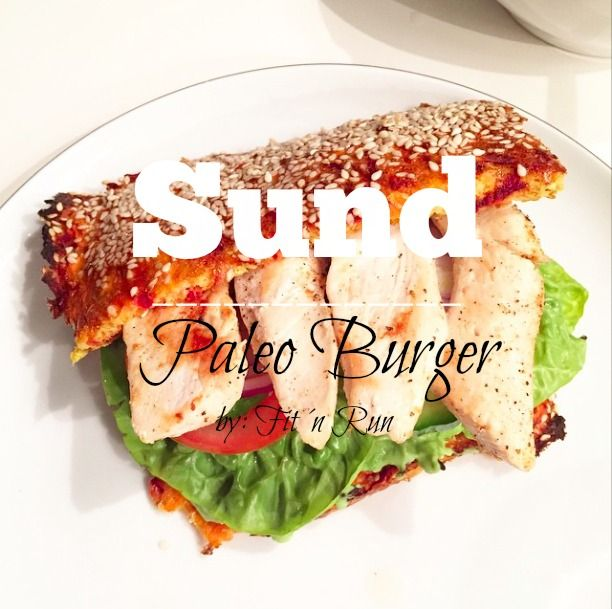 Opskrift: Sund Paleo Burger