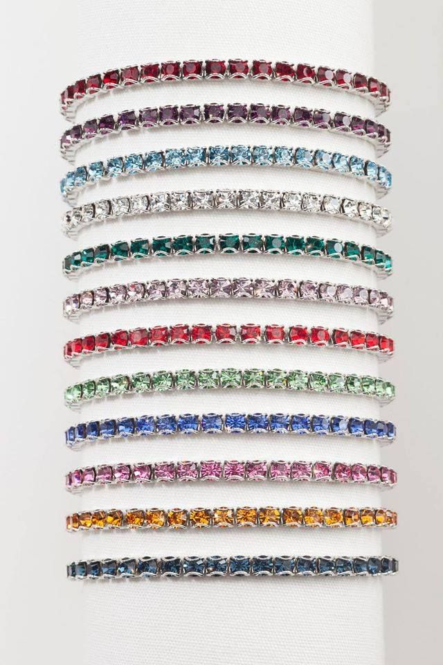 510767bc9be07 TOUCHSTONE CRYSTAL SPECIAL The Birthstone Bracelet Collection for ...