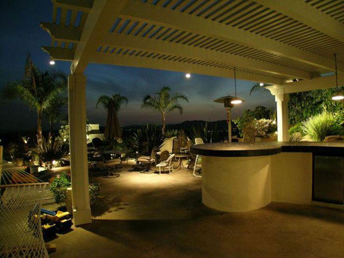 10 Best Pool Area Lighting Images On Pinterest Landscape