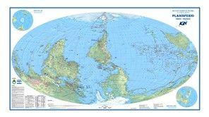 Mapa Planisferio Rotado
