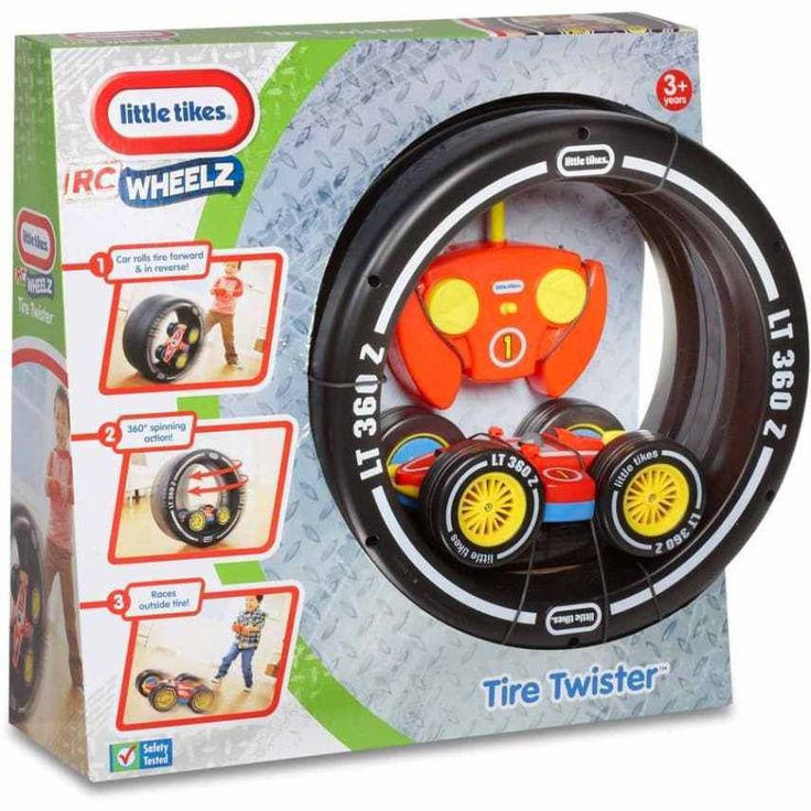 Little Tikes RC Tire Twister Racing Car Kids Toy Fun Easy Steer boys play gift | eBay