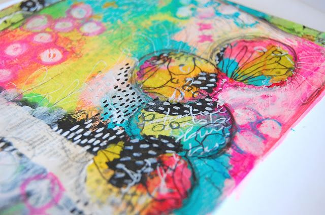 heArt Makes: Life Documented - week 13 Art Journal page