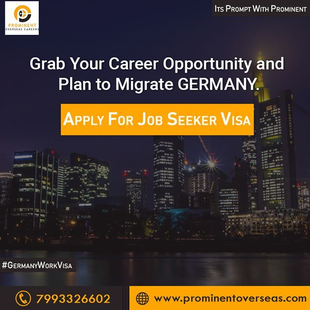 The Job Seeker Visa For Germany Is A Long Term Residency Permit Which Allows You To Stay In The Country For Six Work Visa Career Abroad Study In New Zealand