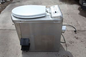 Incinolet Incinerating Toilet Carefree Deluxe Model Camper Rv Incinerating Toilet