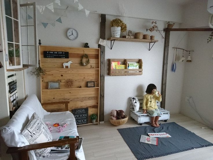 ホームセンターのすのこが、収納&キッズベンチに変わるDIY|LIMIA (リミア)