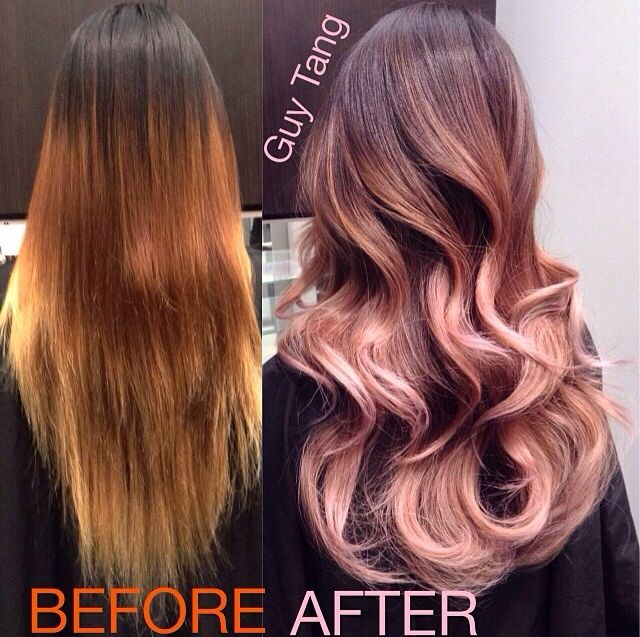 Such a gorgeous transformation!