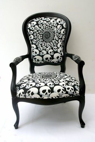 <3: Skull Chairs, Houses, Decor Ideas, Rocks Chairs,  Rockers, Style, Dreams, Awesome, Furniture