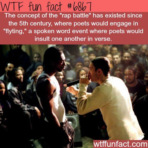 Rap Battles - WTF fun fact