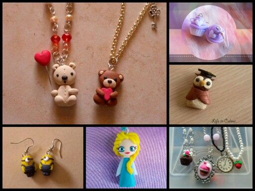 Creations by Life in Colour Accessori Handmade  #fimo #polymerclay