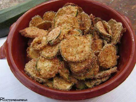 Chips di zucchine - Ricettemonamour