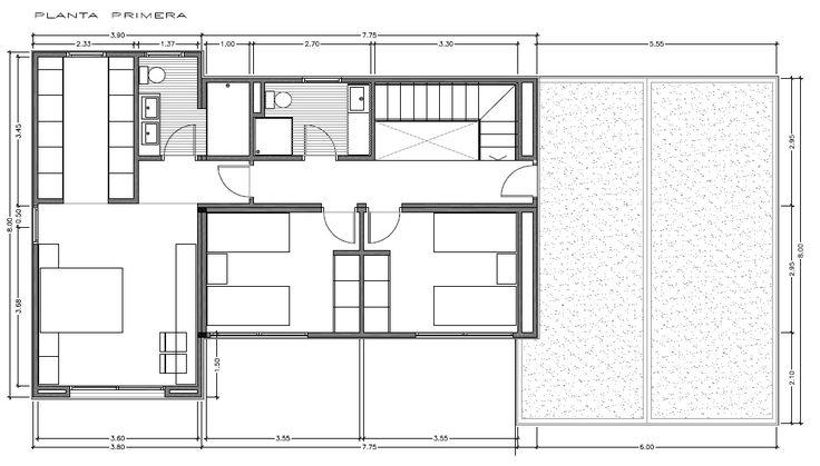 Modelo de casa innova de 250 m2 distribuci n a vitale - Distribucion de casas ...