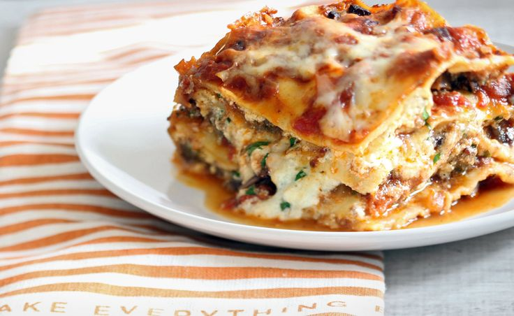 """In 2001, Regina Schrambling went on a week long odyssey in search of the ultimate lasagna recipe She tested several, and finally found her ideal in a mash-up of recipes from Giuliano Bugialli and Elodia Rigante, both Italian cookbook authors """"If there were central casting for casseroles, this one deserved the leading role"""