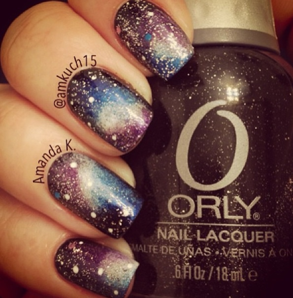 1000 Images About Galaxy On Pinterest: 1000+ Images About Galaxy Nail Art On Pinterest