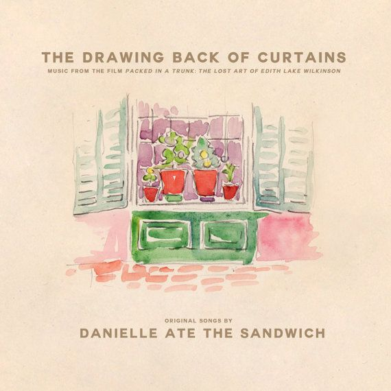 The Drawing Back of Curtains is Danielle Ate the Sandwichs 5th album and the soundtrack to the documentary film, Packed in the Trunk: The Lost Art of Edith Lake Wilkinson. Enjoy 11 new songs similar to Danielle Ate the Sandwichs subtle and folk-y style, that help tell the amazing story of the life and art of artist Edith Lake Wilkinson.  Each disc comes in a cardboard, full color, digipak and includes a pull out insert with Danielle Ate the Sandwich lyrics, a note from and photos of the…