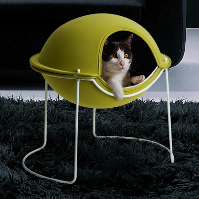 Bow-WOW! 20 Modern Pet Beds for Your Furry Friends via Brit + Co.