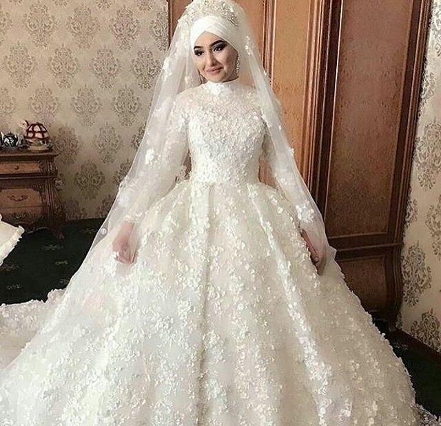 Realbeautymarriagega Muslim Wedding DressesMuslim
