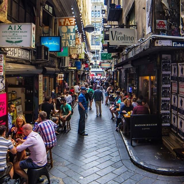 City of Melbourne's laneways have been revitalised with street art, atmospheric bars, and bustling cafes - Photo by BEND - Blog & Photography