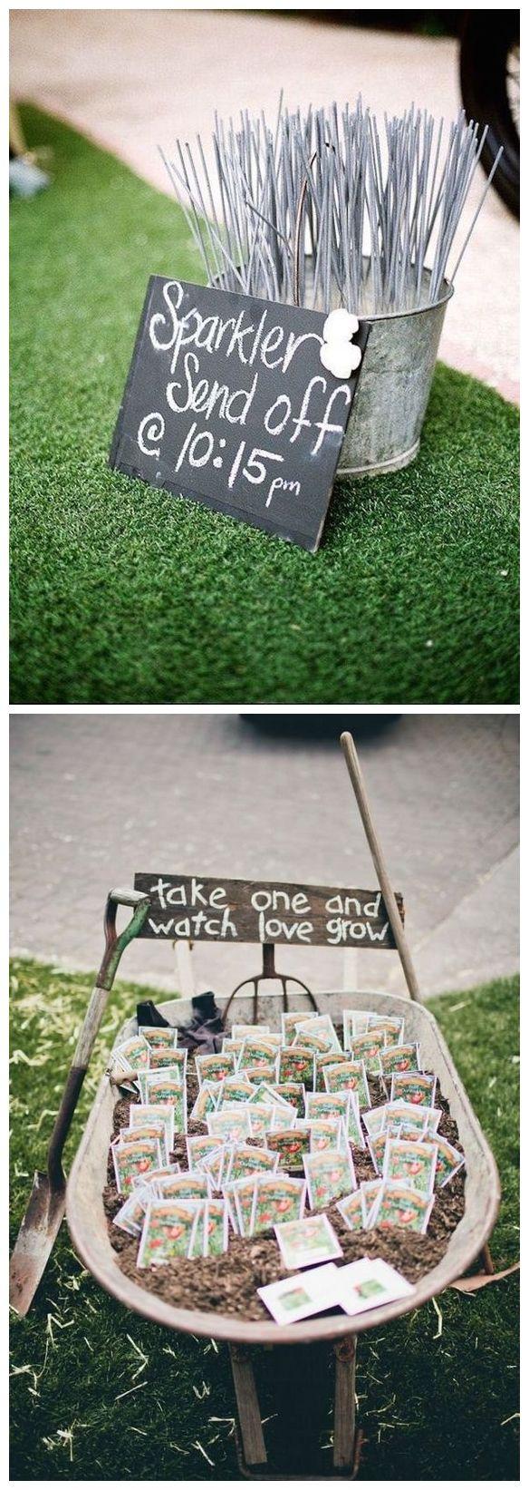 Outdoor Backyard Garden Wedding Ideas #weddings #weddingideas #weddinginspiration