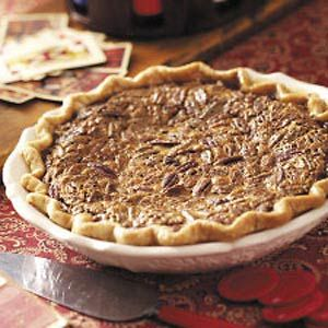 "#ultimatethanksgiving Pecan Pie, another traditional dessert. Although the recipe calls it a ""Texas"" Pecan Pie, it's much like we make it in North Carolina. also at our Thanksgiving buffet it's ok to have as many desserts as we have side dishes!!"