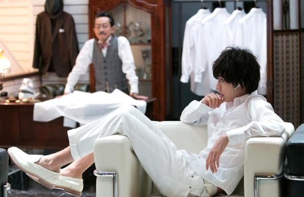 """[""""L"""" Making, Ep.1] https://www.youtube.com/watch?v=hI6GnplvdWU [Talk show] https://www.youtube.com/watch?v=0bzAhCEcRhg [Trailer, Ep.1] from 00:35 https://www.youtube.com/watch?v=zxN6qxn8Vzw Kento Yamazaki, Masataka Kubota, Mio Yuki, Hinako Sano. New showdown (Light vs L vs N) and new ending, J drama series """"Death Note"""", starts on Jul. 5."""