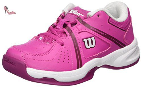 Wilson Wrs322320e, Chaussures de Tennis Mixte Enfant, Rose (Rose Violet/White/Boysen Berry), 28.5 EU - Chaussures wilson (*Partner-Link)
