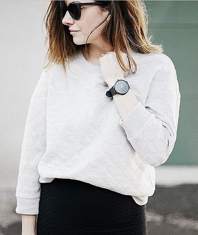 We can't get enough of Wit & Delight's chic, modern minimalist street style!