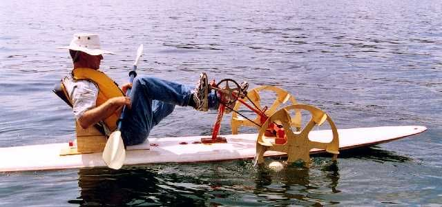155 best sustainable human powered machine images on for Paddle boat fishing