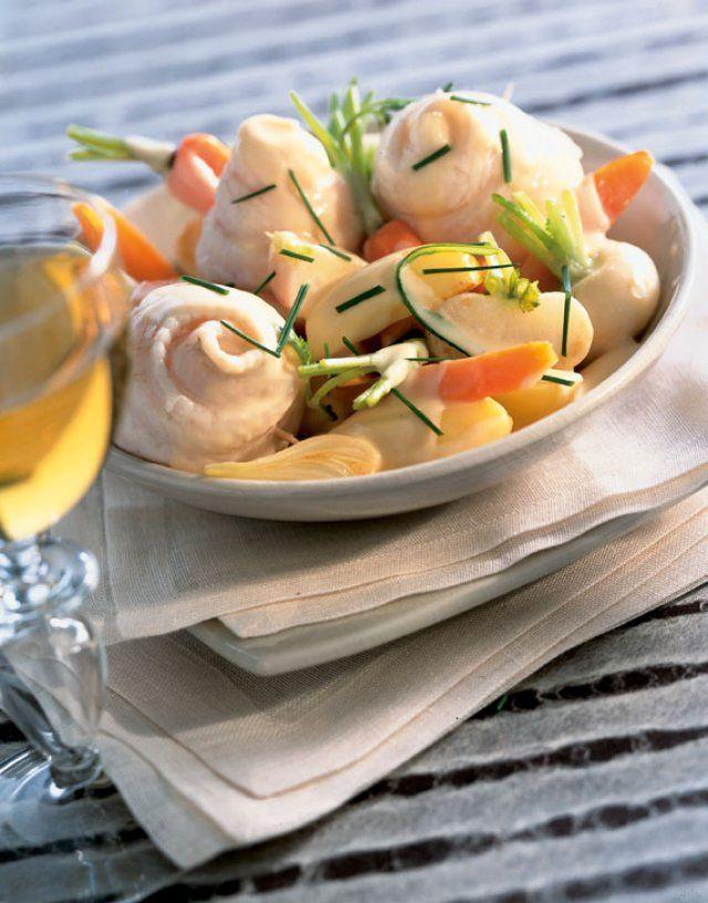 Recette blanquette de limande - Cuisine et Vins de France