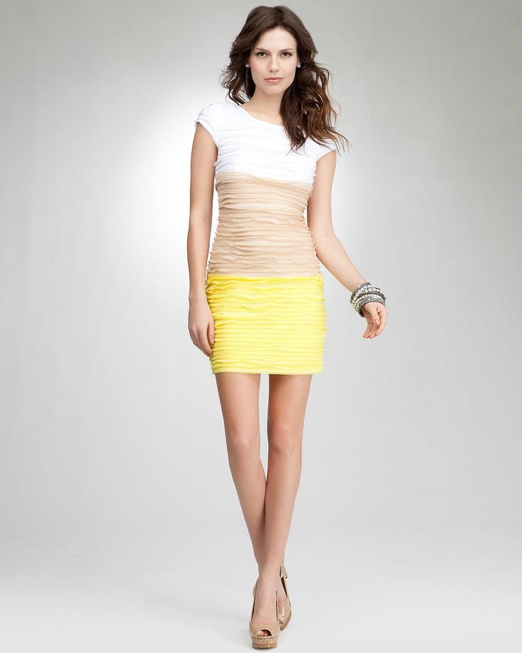 Bebe cutout wave dress images