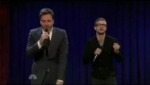 Justin Timberlake & Jimmy Fallon:: 30 Year Of RAP History Part 1. Video Dailymotion. This just makes me happy.