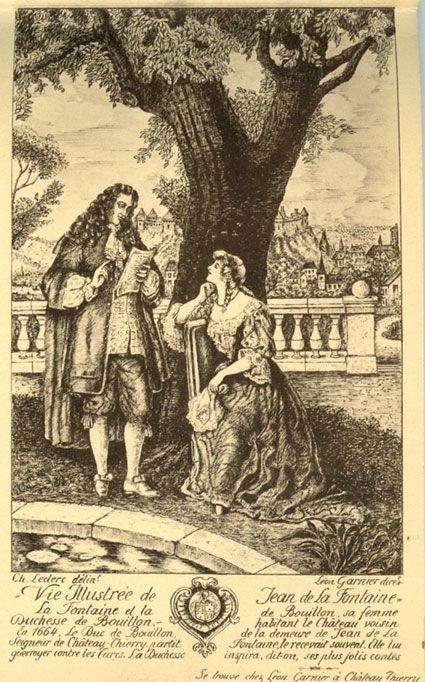 La Fontaine et la duchesse de Bouillon