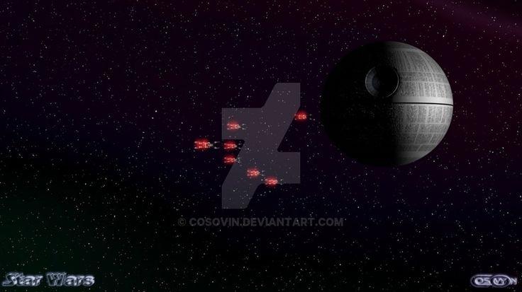 18 Star Wars - XWings Attack on Death Star by cosovin.deviantart.com on @DeviantArt