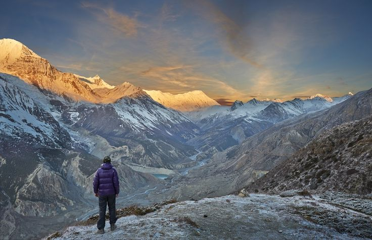 #Nepal is a trekking paradise as her varied terrain offers some of the most spectacular scenery in the world.  Explore its scenic beauty, Call us at +91-11-4546-4546.