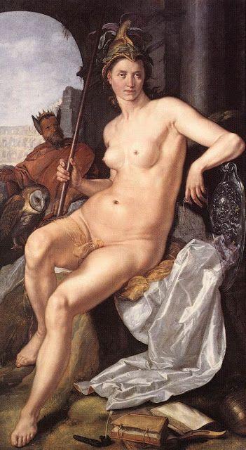 Αθηνά (Hendrick Goltzius 1611)