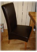 Leather High Back Leather Skirted Dining Chairs Vienna Italian LeatherHigh BackDining Chairs Chocolate BrownHigh BackDesign Dining Chair http://www.comparestoreprices.co.uk/dining-chairs/leather-high-back-leather-skirted-dining-chairs.asp