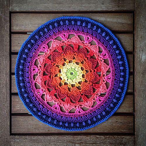 Ravelry: Summer Dreams Mandala pattern by Christine Hedwig