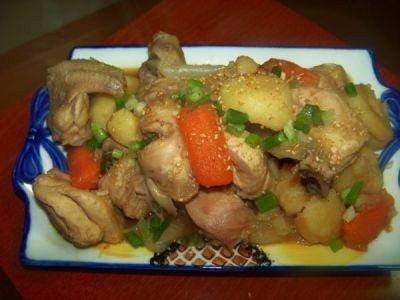 Курица в соевом соусе с кленовым сиропом