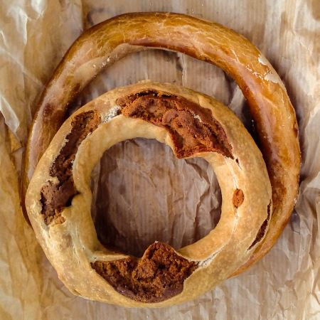 Popias, traditional bakery product from the Alentejo (Portugal)