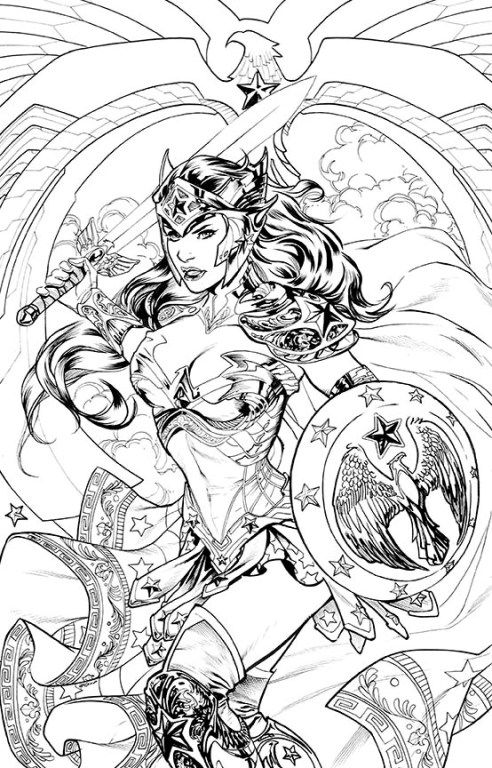 55 Best DC Comics Coloring Book Images On Pinterest
