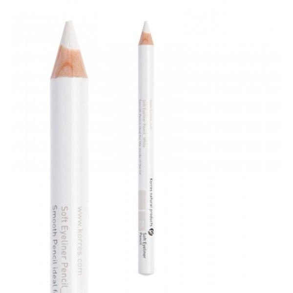 Korres Soft Eyeliner Pencil/Μαλακό Μολύβι Ματιών   2S White 1.2g