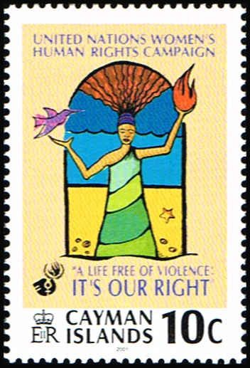 Cayman Islands 814 Stamp UN Women's Human Rights Item # C CAY 814-1, $0.75 (http://www.bmastamps2.com/stamps/caribbean/cayman-islands/cayman-islands-814-stamp-un-womens-human-rights-c-cay-814-1/)