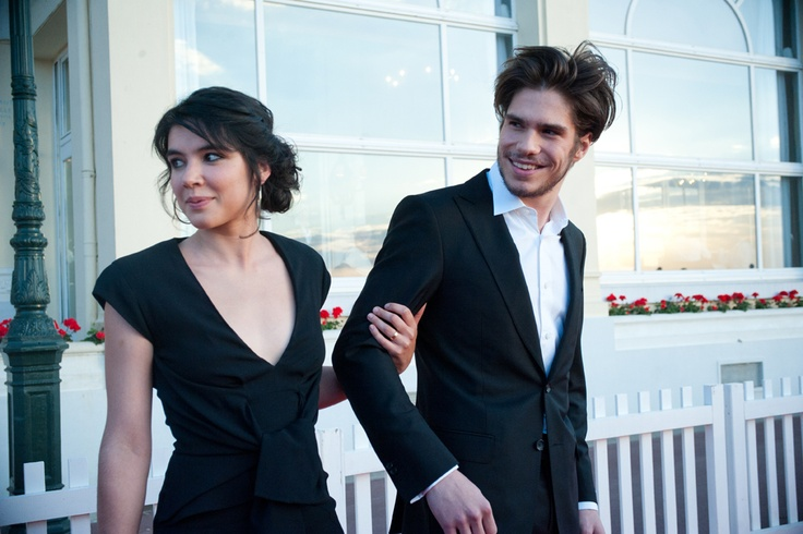 Victoire Belezy and François Civil - the two young actors who received the first Rendez-Vous Prize