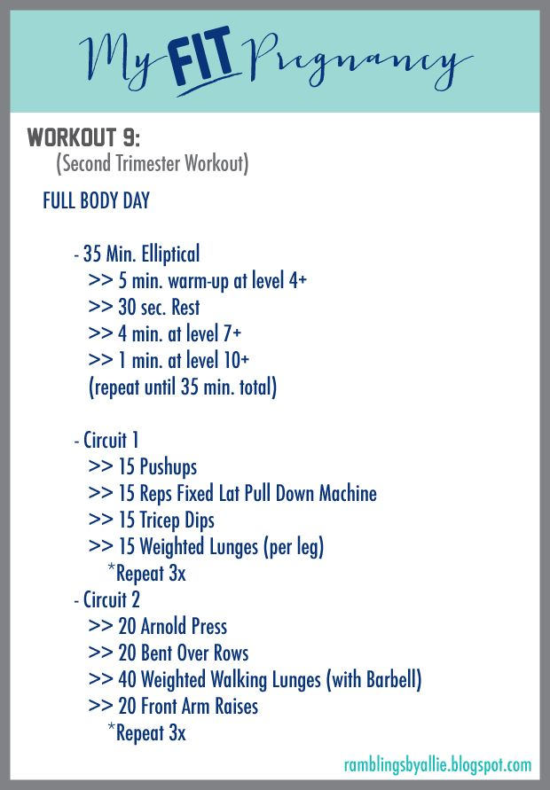 Second Trimester Workout, Pregnancy Workout, full body pregnancy workout, pregnant exercises, second trimester exercises, fit pregnancy