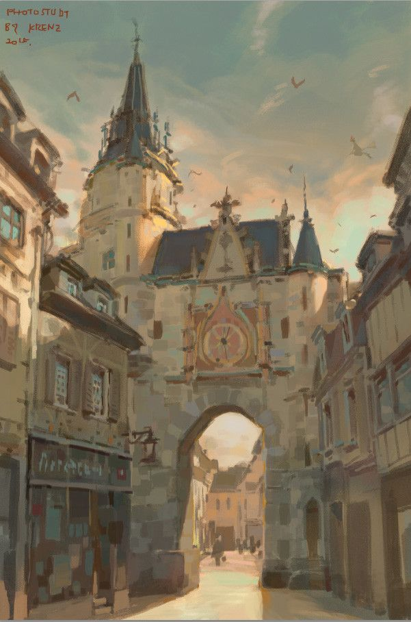 Some Photostudy, Krenz Cushart on ArtStation at https://www.artstation.com/artwork/gw1xm