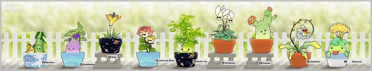 Cheeeeeese~~! Check out my lovely garden! Get yourself a plant at http://fourdesire.com/outer_link?url=http://itunes.apple.com/app/id590216134&l=en_US&m=58D7C6D6