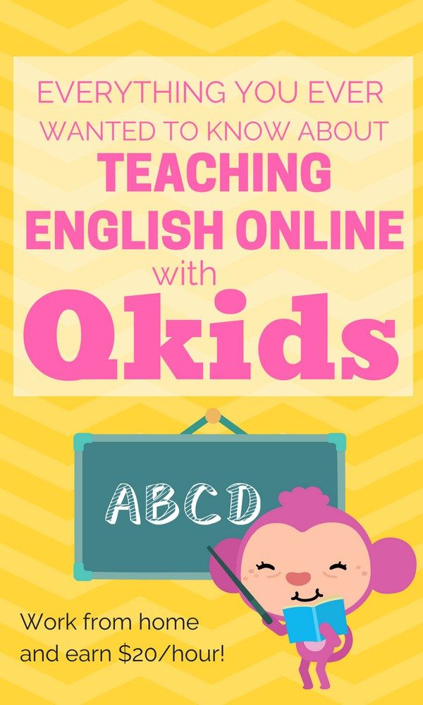 Qkids Review: Work from Home Teaching English Online