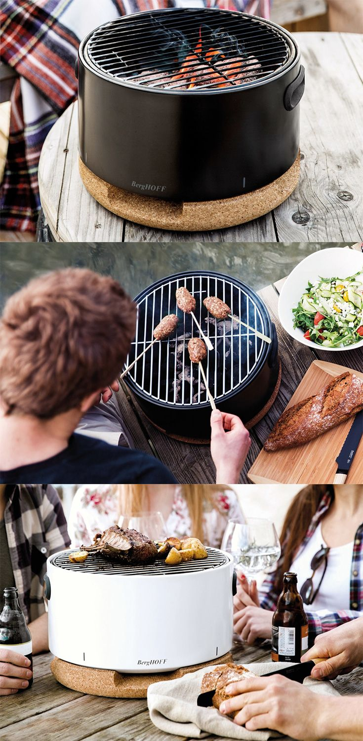 The 'Social grill' is Berghoff's ultra-compact design made to be small enough to be used as a table-top device, with people all around because barbecue grills needs the attention of one person at all time... READ MORE at Yanko Design !