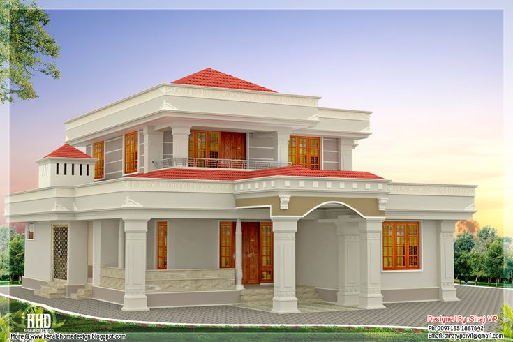 Home Front Elevation Pictures N Style : Cool indian home front elevation painting colours