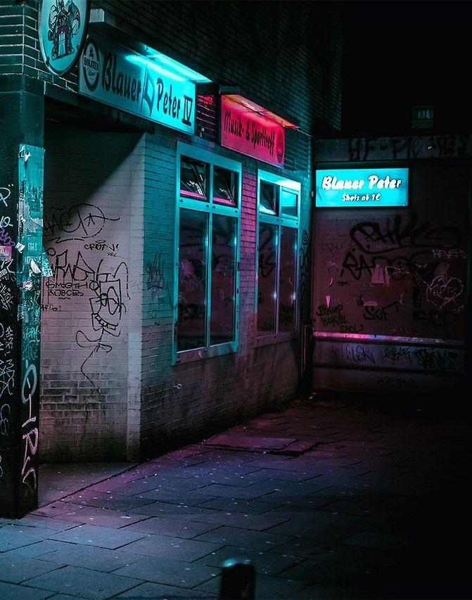 A Seedy Street Corner